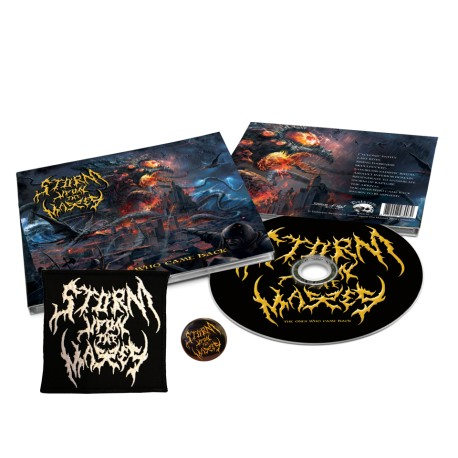 "BUNDLE - STORM UPON THE MASSES - ""The Ones Who Came Back"" CD Digipack + Patch + Pins"