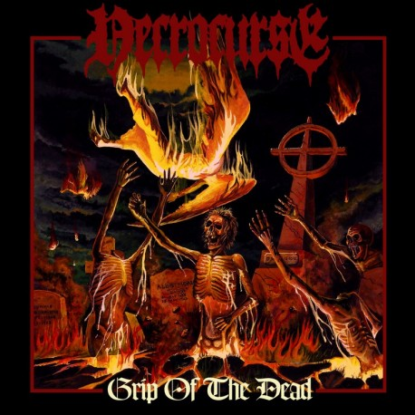 "Necrocurse - ""Grip of The Dead"" CD"