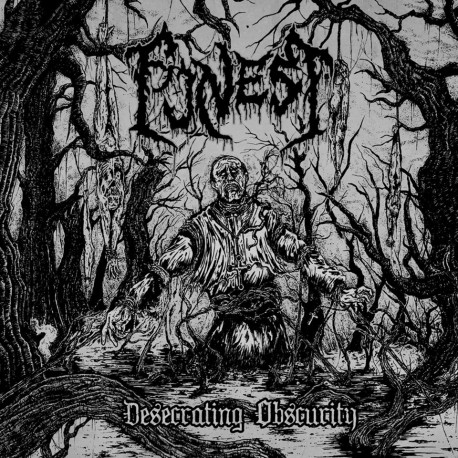 """Funest - """"Desecrating Obscurity"""" CD"""