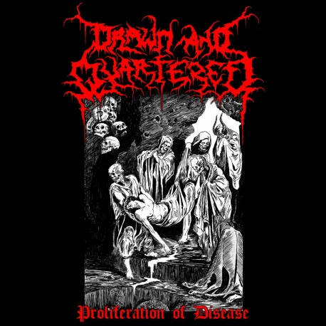 """DRAWN AND QUARTERED - """"Proliferation of Disease"""" CD"""