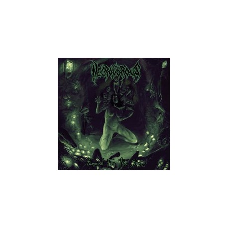 """Necrovorous - """"Funeral For The Sane"""" CD"""