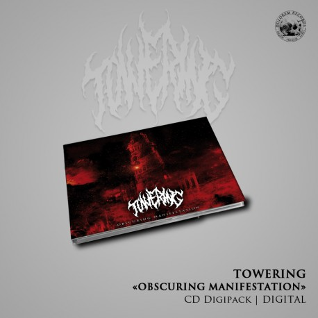 """Towering - """"Obscuring Manifestation"""" CD Digipack"""