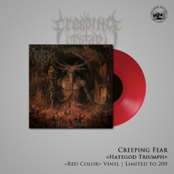 "Creeping Fear - ""Hategod Triumph"" LP (Colored Edition)"
