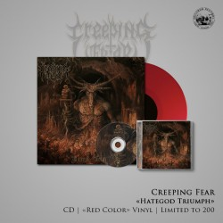 "BUNDLE - CREEPING FEAR - ""Hategod Triumph"" CD + LP (Colored Edition)"