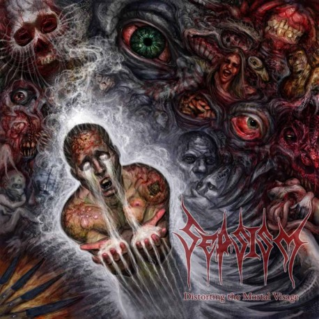 "Sepsism - ""Distorting The Mortal Visage"" CD"