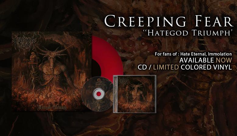 """Creeping Fear - """"Hategod Triumph"""""""